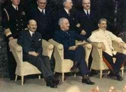 Things had changed since Yalta NEW LEADERS Harry S.