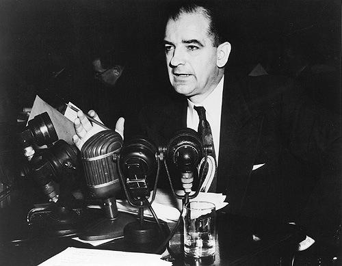 Joseph McCarthy RISE- McCarthy claimed to have a list with as many as 205 communists that worked for the government Fall- McCarthy