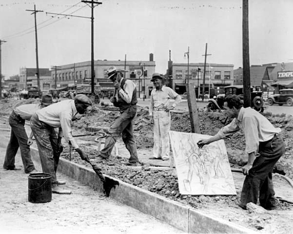 Creating New Jobs 1933-1942: The Civilian Conservation Corps (CCC) A Rural Public Works