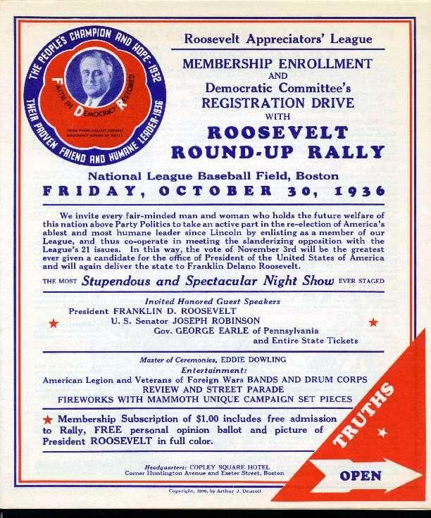 The Election of 1936 The Election of 1936: Made the Democratic party the majority party Created a new Democratic coalition