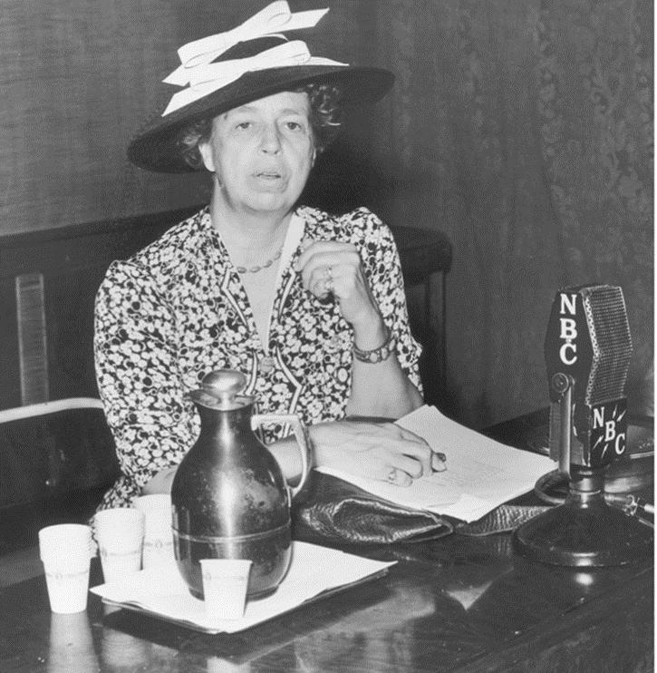 Eleanor Roosevelt redefined the role of the first lady.