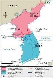 Democratic People s Republic of Korea to the north and the pro-western Republic of Korea to the south. This invasion was the first military action of the Cold War.