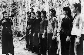 After 1954, (the French were giving up colonial control of Indochina) the struggle for Vietnam became part of the Cold War.