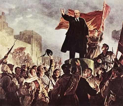 After 3 years of fighting, the Red Army won & Lenin became the
