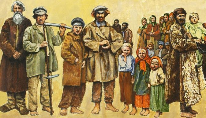 Opposition to the Russian Government Section 11a: Opposition to regimes from Peasants Task 1: What general statements can we make about peasants in Russia?