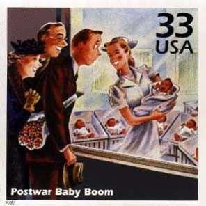 Baby Boom changes society Soldiers returning from WWII come home and have a lot of babies At the peak of the baby boom 4.