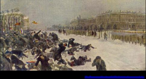 Cause #2: Working Conditions and Bloody Sunday (January 22, 1905) At the beginning of the 20th century the Russian industrial employee worked on average an 11 hour day (10 hours on Saturday).