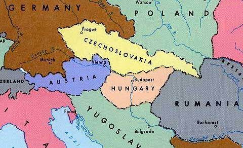 II. Collapse of Empires A. Breakup of Austria-Hungary: 1.