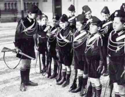 Italy Under Mussolini (1922-1943) Militarism Drafted men to 4 years of service followed by 11 years on