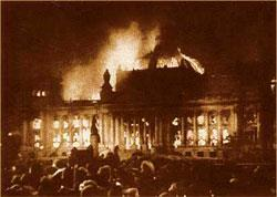 Nazis Gain Power 1933 = Hitler calls for new elections Voting = marked by intimidation & violence Reichstag building mysteriously burned down