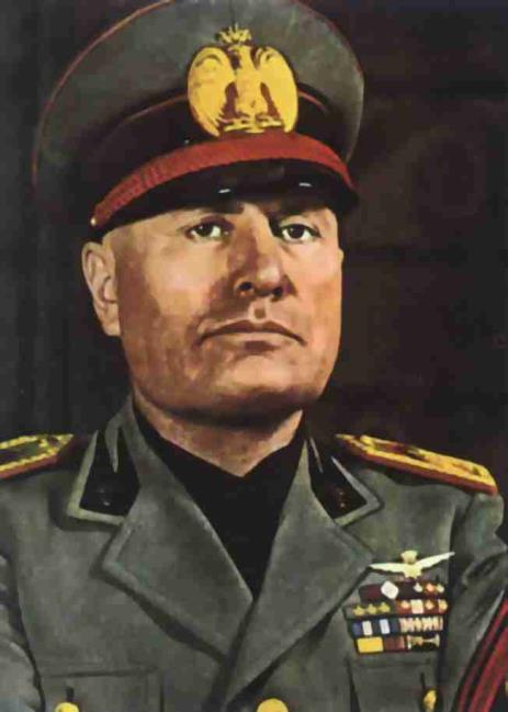 Benito Mussolini Came from a working-class family Ambitious and