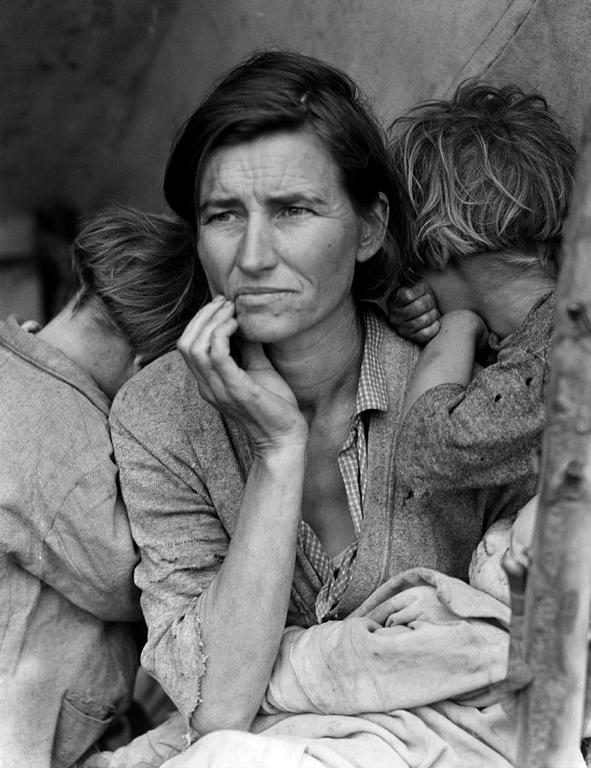 The Great Depression: The Effects The psychological burden of the Great Depression was crippling, and it affected nearly everyone in the nation Pictured: Florence Owens Thompson (by Dorothea
