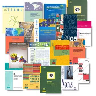 DISSEMINATION AND COMMUNICATIONS More than 800 new documents produced: 18 4 25 80 250 13 13 380 ECLAC books, Cuadernos de la CEPAL series Co-publications Conference documents (including those