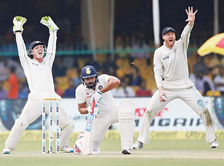 It didn t spin early on but 291-9, not too bad. CRICKET Lokesh Rahul and Murali Vijay gave the hosts a decent start after skipper Virat Kohli opted to bat in India s 500th Test.
