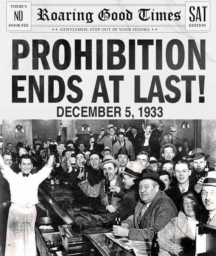 Prohibition comes to an End High price of bootleg liquor working class and poor were far more restricted during Prohibition than middle or upper class Americans Jails and prisons spiraled upward,