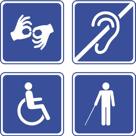 The Americans with Disabilities Act of 1990 We have an obligation to accommodate: Facilities Interpreters