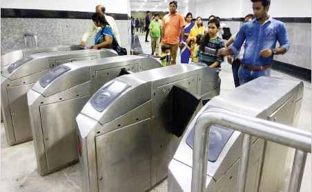 Besides, the Delhi Metro Rail Corporation recently increased the frequency of trains on a few lines in, and now all trains coming from the Vishwavidyalaya station terminating at HUDA City Centre, a
