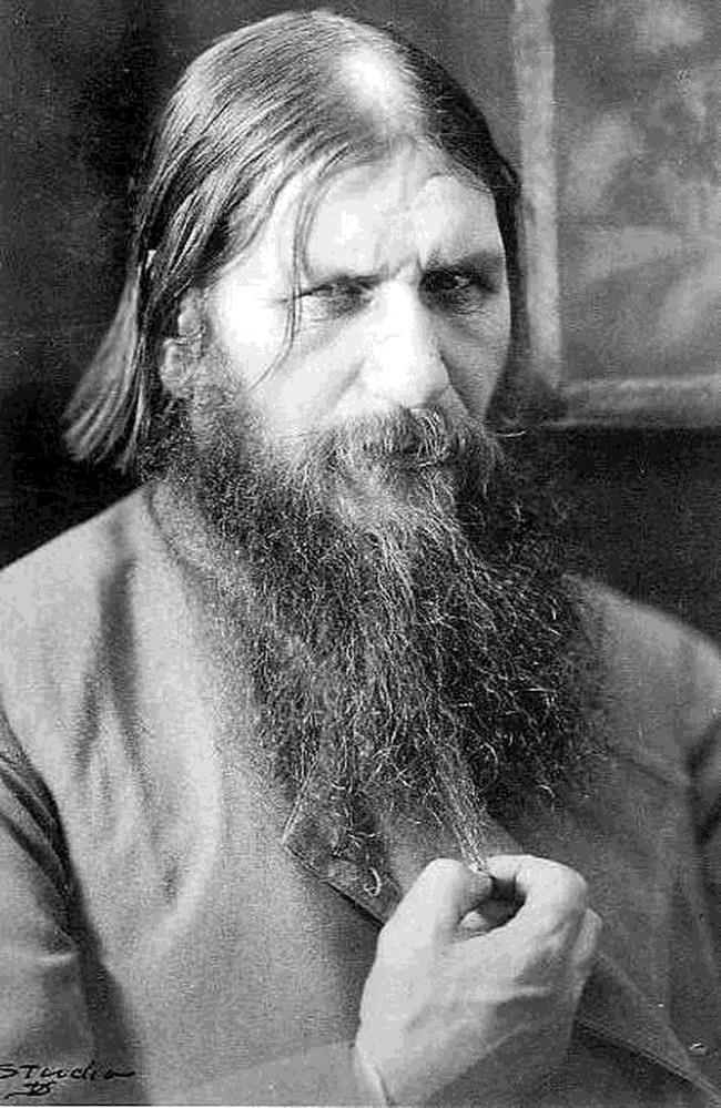 E. Influence of Grigori Rasputin As the Tsar was on the front lines he left the Tsarina in control at home.