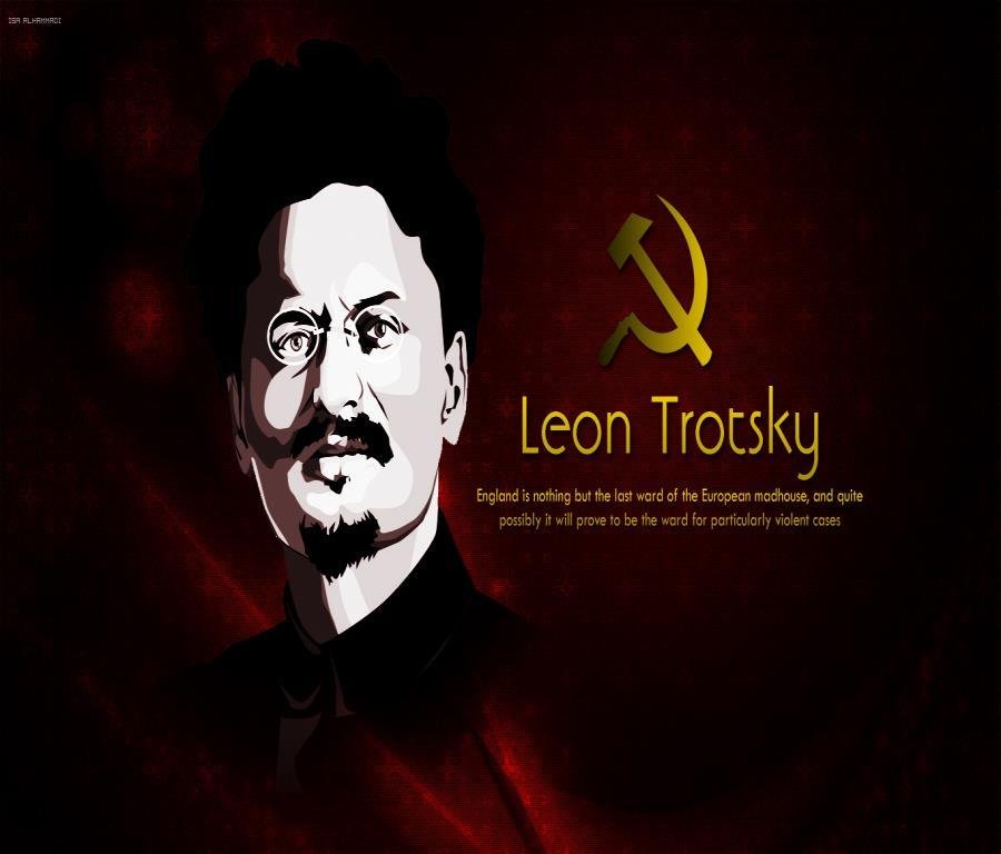 He played a particularly important role in building up the Red Army, without which the revolution would have been