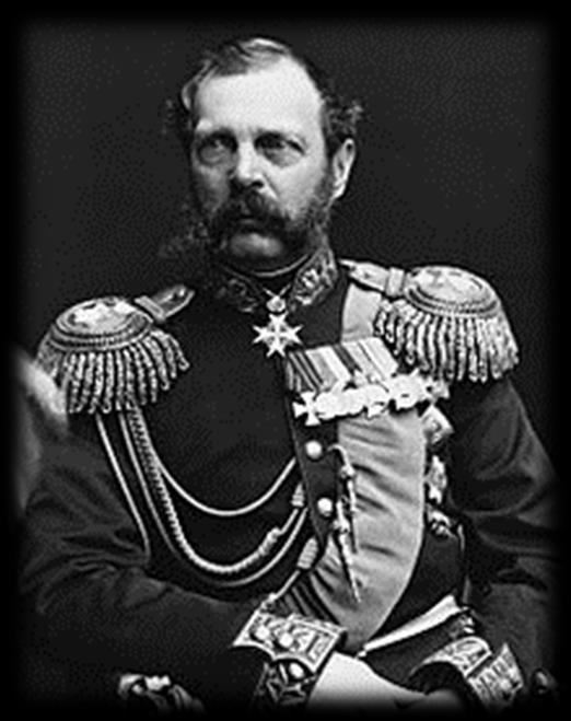 B. Alexander II (r. 1855-1881) 1. Perhaps the greatest reformminded tsar since Peter the Great. a.