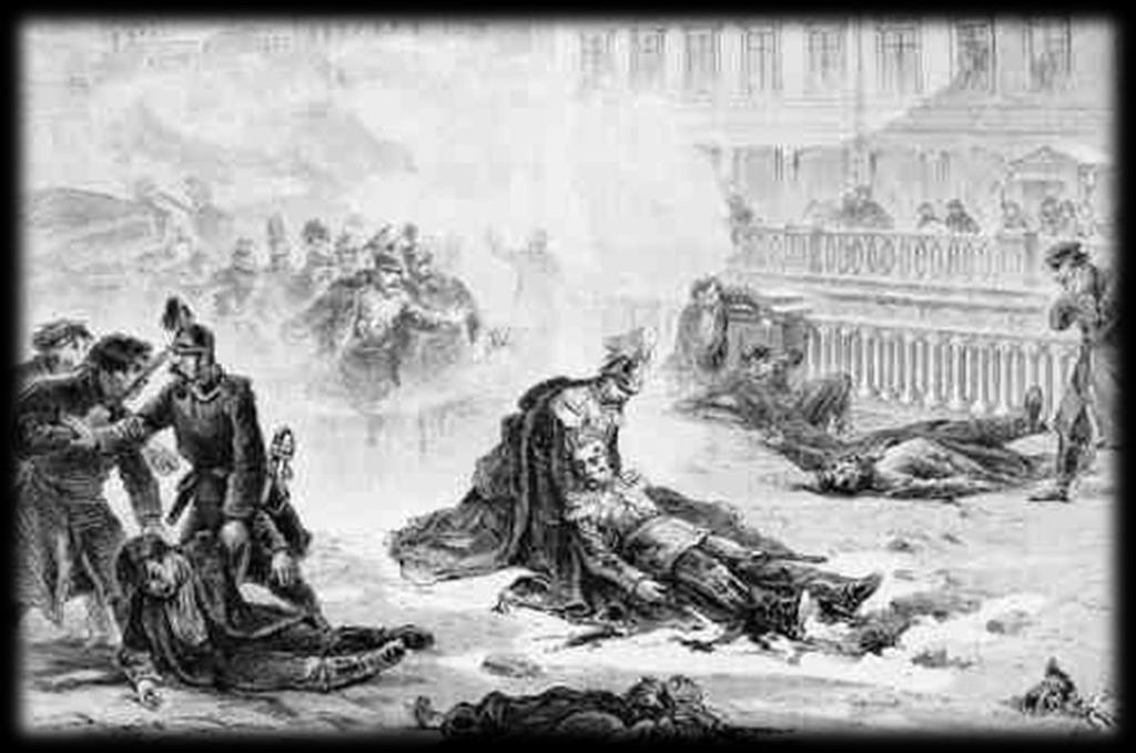 8. Alexander II assassinated in 1881 by