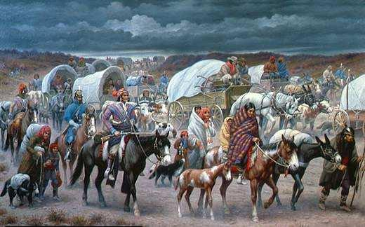 2. Trail of Tears was the result (relocated Cherokee