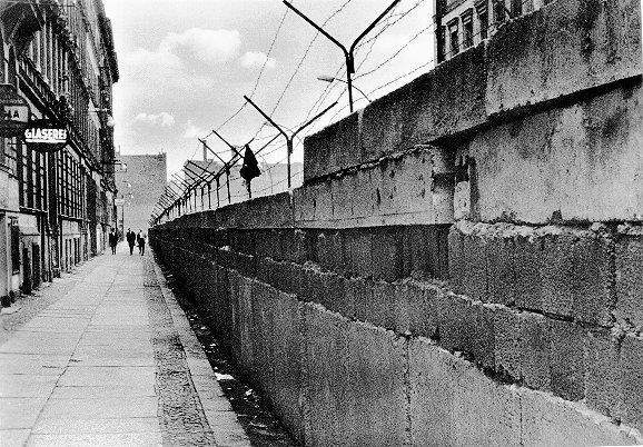 BERLIN WALL Many people living in East Berlin would cross over into West Berlin and then travel to West Germany. The escape of so many people embarrassed East Germany and the Soviet Union.