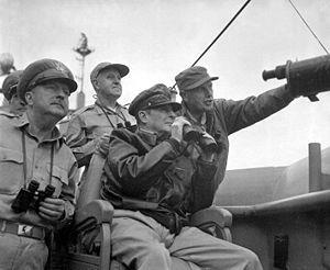 Korean War 16 countries send troops (90% American) in charge of defending Korea. Truman puts Gen. MacArthur in charge of defeating the communists At first, North Korean troops are very successful.
