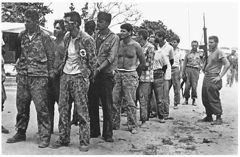 Those who did make it to shore met 25,000 Cuban troops, backed by Soviet tanks and aircraft.