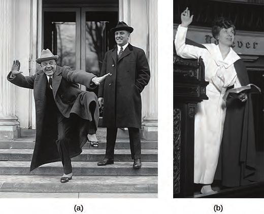 Chapter 24 The Jazz Age: Redefining the Nation, 1919-1929 709 Figure 24.13 Billy Sunday, one of the most influential evangelists of his day, leaves the White House on February 20, 1922 (a).