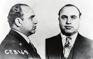 Chapter 24 The Jazz Age: Redefining the Nation, 1919-1929 715 Figure 24.18 Al Capone, pictured here in his U.S. Department of Justice mug shot, was convicted of tax fraud and sent to prison in 1931.