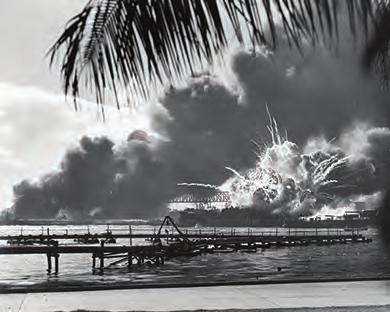 Chapter 27 Fighting the Good Fight in World War II, 1941-1945 797 Figure 27.7 This famous shot captured the explosion of the USS Shaw after the Japanese bombed Pearl Harbor.