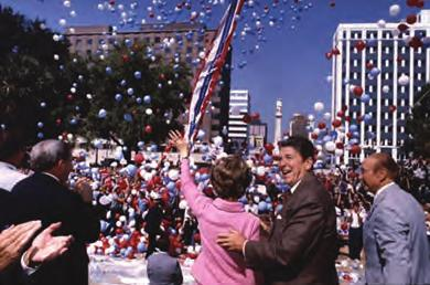 928 Chapter 31 From Cold War to Culture Wars, 1980-2000 Voter turnout reflected this new conservative swing, which not only swept Reagan into the White House but created a Republican majority in the