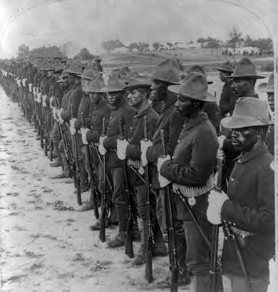 "646 Chapter 22 Age of Empire: American Foreign Policy, 1890-1914 DEFINING ""AMERICAN"" Smoked Yankees : Black Soldiers in the Spanish-American War The most popular image of the Spanish-American War is"