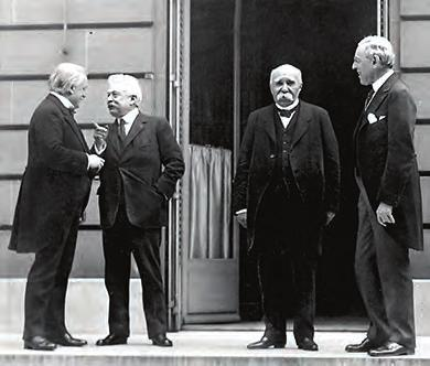 Chapter 23 Americans and the Great War, 1914-1919 685 Figure 23.18 The Paris Peace Conference held the largest number of world leaders in one place to date.