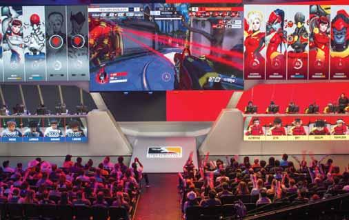 Established 1961 15 Technology Overwatch League esports dreams of rivaling mainstream standards The league has developed its own stars and legions of followers LOS ANGELES: The Los Angeles Gladiators