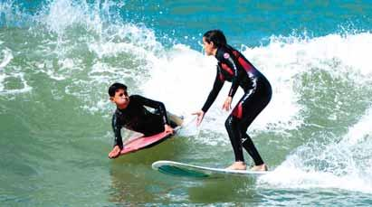 Some families are ashamed that their daughters practice water sports, said Jalal Medkouri, who runs the Rabat Surf Club on the capital s popular Udayas beach.