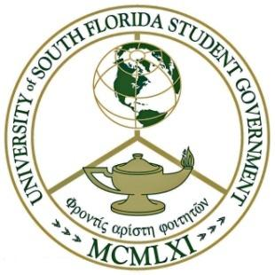 Rules of Procedure The University of South Florida Student Government Senate 1 PREAMBLE We, the members of the Student Senate, in order to represent the students of the University of South Florida in