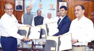 he State Government on TSaturday signed a tripartite MoU for expansion of Deoghar Airport with Defence Research and Development Organisation (DRDO) and Airport Authority of India here on Saturday.