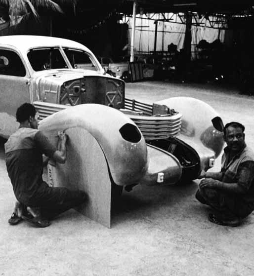 The biggest challenge we face while restoring a vintage car is that those cars are one of kind. We cannot even find pictures of such a car, like the Maharaja car which was a single piece in the world.