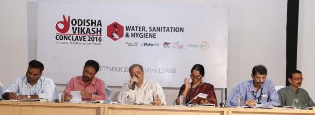Parallel Theme Sessions 42 There were two theme sessions on Water and Sanitation respectively chaired by Shri P K Sahoo, Chairman, CYSD and Shri Joe Mediath, Chairman, Gram Vikash.