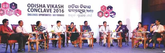 ContextSetting Odisha Vikash Gazette 03 Shri Jagadananda, Mentor and Co-founder of CYSD, said that the Conclave is a unique gathering of the Govt.