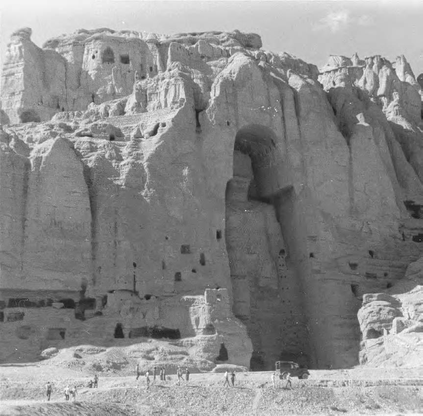 70 DESTRUCTION OF PRE-ISLAMIC HERITAGE A giant stone Buddha from the fourth or fifth century was a testament to Afghanistan's long and rich history.