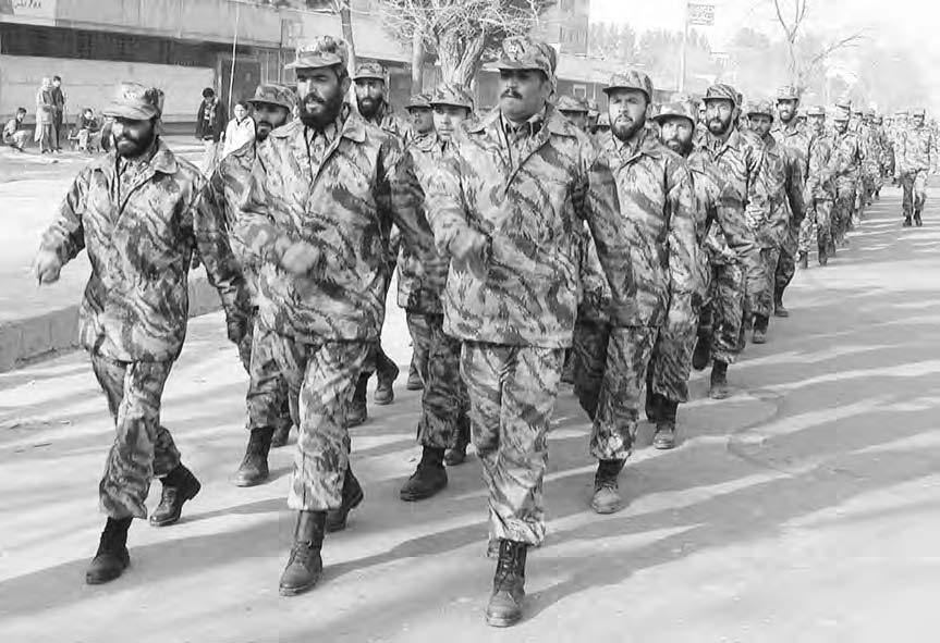 AFGHAN ARMY 5 Kabul parade, on 23 January 2002, of a unit of Afghanistan s new multiethnic National Army ( Reuters NewMedia Inc.