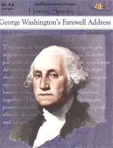 The Rise of Political Parties Shortly before President Washington left office he gave a farewell address. He emphasized three points. 1.The U.S. should stay neutral and avoid permanent alliances with other nations.