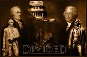 The Rise of Political Parties cont. Despite Washington s warnings, opposing political parties did form. The Federalist Party believed in a strong national government.