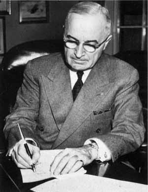 The Truman Doctrine I believe that it must be the policy of