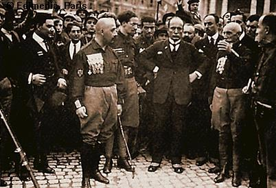 Benito Mussolini became the Prime Minister of Italy in 1922.