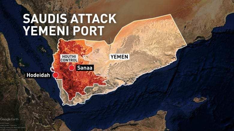 P a g e 76 Arab coalition expects that the operation will force the Houthi rebels in Yemen to sit down for a negotiated settlement of the conflict that has caused a major humanitarian disaster in