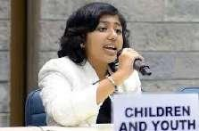 International Children's Peace Prize 16-year-old Indian environmental activist Kehkashan Basu based in the UAE has won this year's prestigious International Children's Peace Prize for her fight for